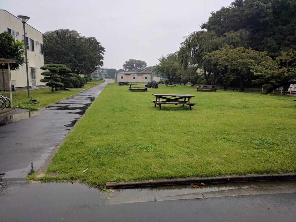 雨のキャンパス。。東京医科大学教養部 | 平成29年度 秋期 情報セキュリティマネジメント試験を受験してきました