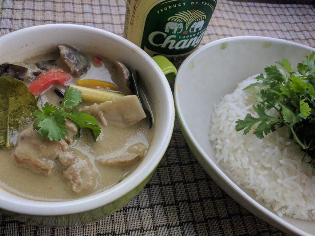 アロイ!タイのグリーンカレーを作りました
