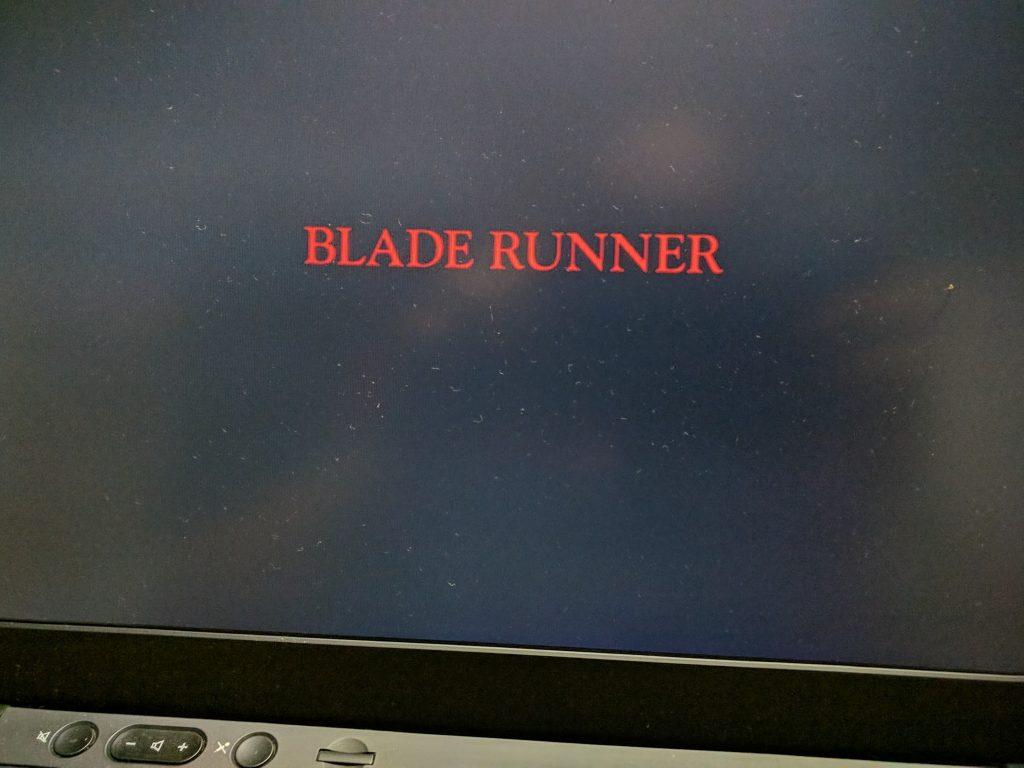 映画「ブレードランナー」(1982)を観ました