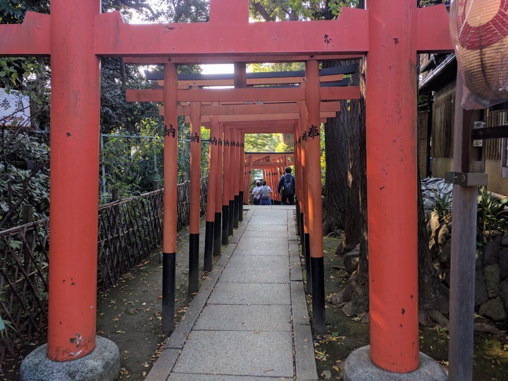 五條天神社 参道