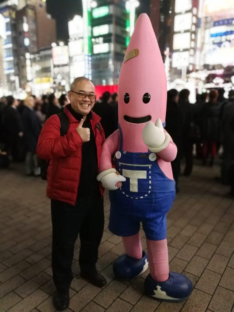 東京タワー公式キャラクター ノッポン兄に会いました