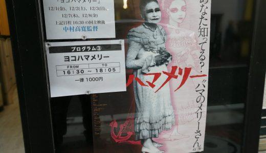 ドキュメンタリー映画『ヨコハマメリー』35mmフィルム上映を横浜シネマリンで鑑賞し伊勢佐木町界隈を散歩しました