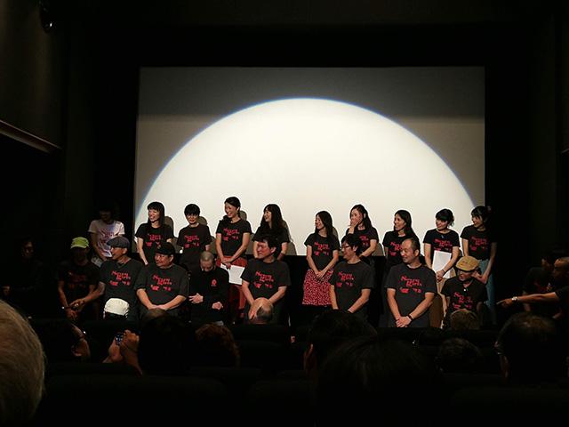 上映後の舞台挨拶 | 映画「セブンガールズ」を新宿K's cinema で鑑賞
