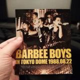 30周年記念!ライヴ・フィルム BARBEE BOYS IN TOKYO DOME 1988.08.22 (完全ノーカット/5.1chリマスター)」 一日限定プレミアム上映をTジョイPRINCE品川で鑑賞