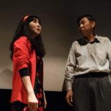 感想05:映画『セブンガールズ』をアップリンク渋谷で鑑賞後、上映後トークイベントに参加。河原幸子さん(あさひ)、中野圭さん(松下幸三)による劇中シーン生再現。それと金子透さん。笑いました。 #セブンガールズ