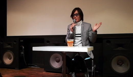 感想13:映画『セブンガールズ』をアップリンク渋谷で鑑賞後は、デビッド・宮原さん(監督・脚本)の貴重なお話をじっくりと。深い。 #セブンガールズ