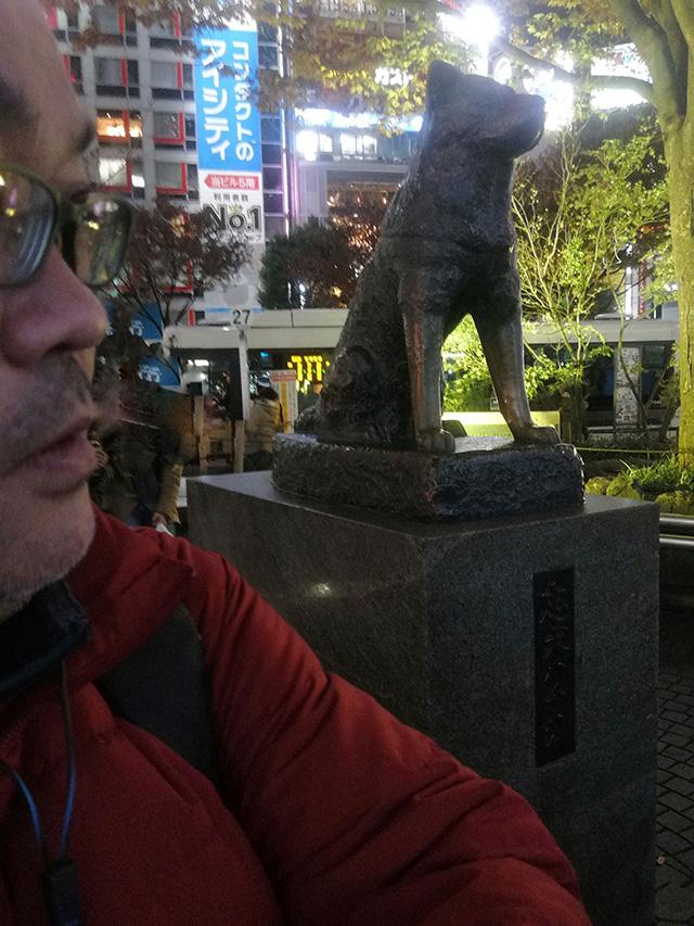 渋谷駅 忠犬ハチ公像