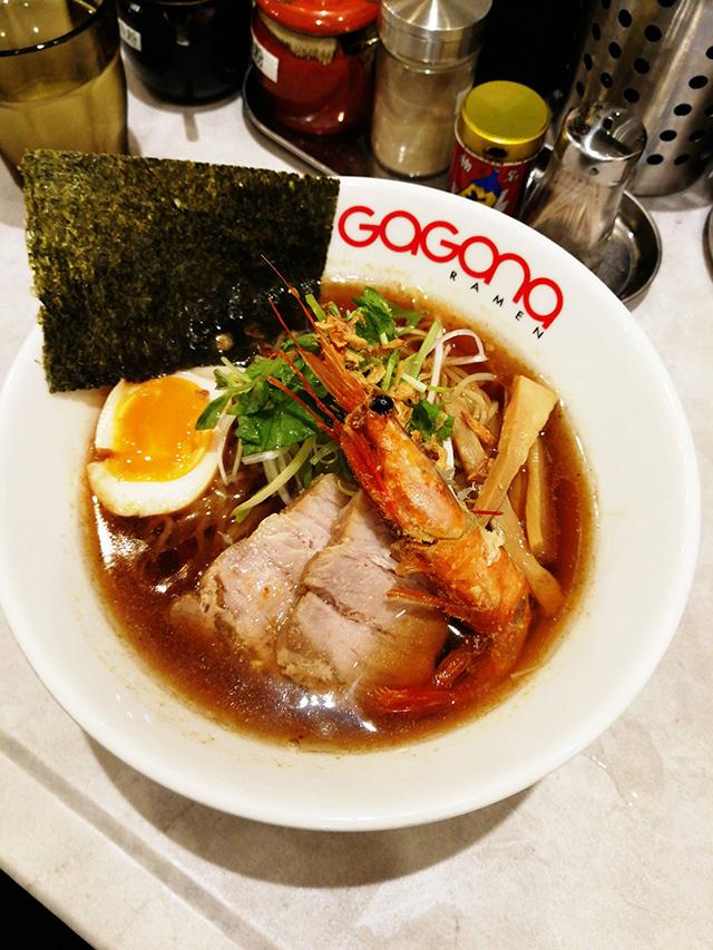 えびラーメンをいただきました | アップリンク渋谷のすぐ裏徒歩15秒 GaGana Ramen 極 渋谷店