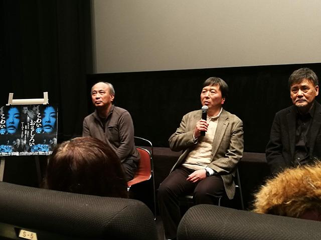 映画「リング0 バースデイ」上映後トークイベント 鶴田法男監督、脚本の高橋洋さん、伊熊平八郎役の伴大介さんをゲストの約1時間のトークショー
