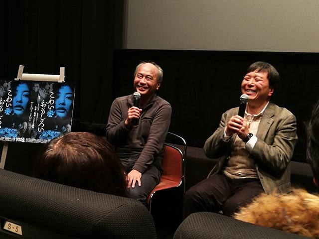 映画「リング0 バースデイ」上映後トークイベント 鶴田法男監督、脚本の高橋洋さん