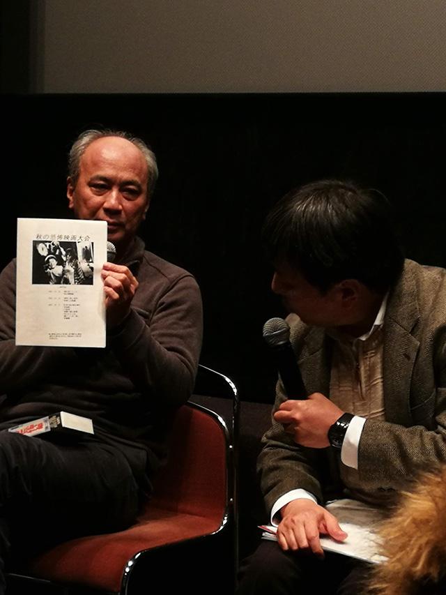 映画「リング0 バースデイ」上映後トークイベント 脚本の高橋洋さん