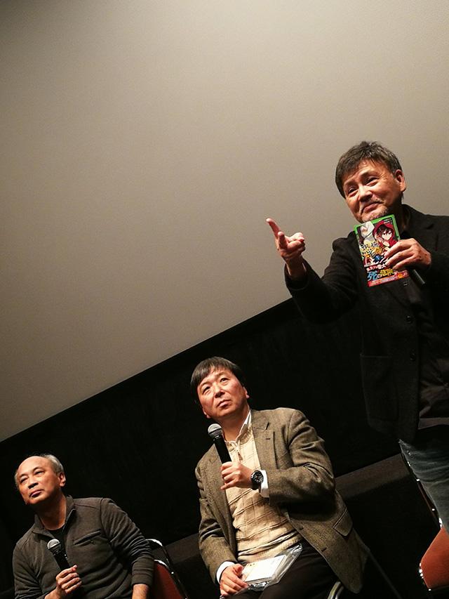 映画「リング0 バースデイ」上映後トークイベント 伊熊平八郎役の伴大介さん
