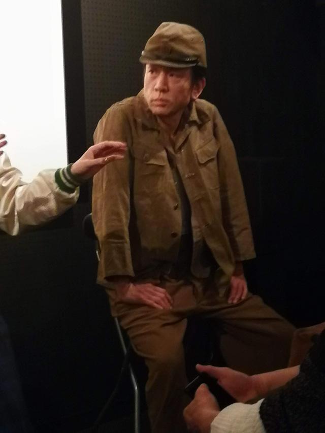 映画『セブンガールズ』下北沢トリウッド 織田稚成さん(新崎)劇団前方公演墳