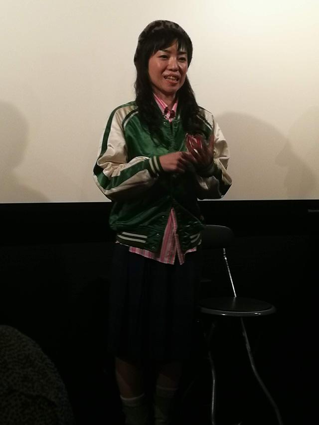 映画『セブンガールズ』下北沢トリウッド 広田あきほさん(郁子)劇団前方公演墳