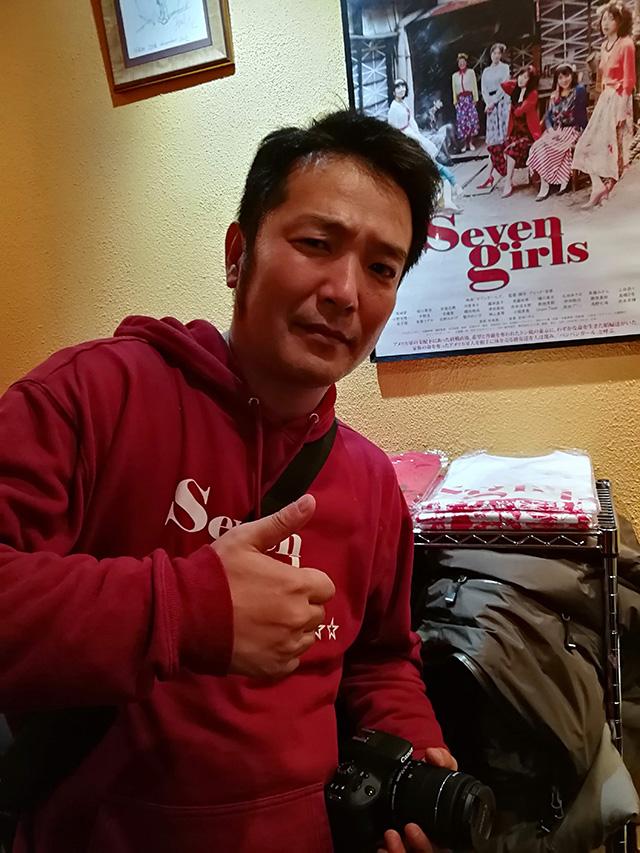 映画『セブンガールズ』下北沢トリウッド 小野寺隆一さん(成瀬) 劇団前方公演墳