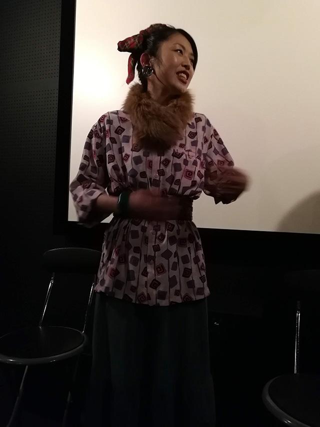映画『セブンガールズ』下北沢トリウッド 坂崎愛さん(真知役)劇団前方公演墳