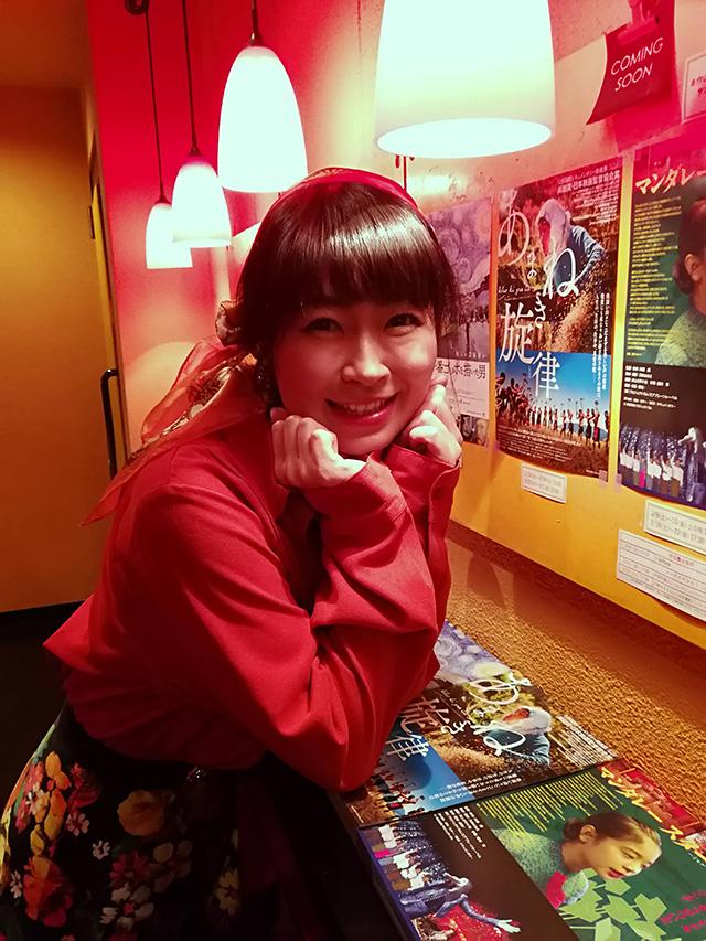 映画『セブンガールズ』下北沢トリウッド 堀川果奈さん(猫役)劇団前方公演墳