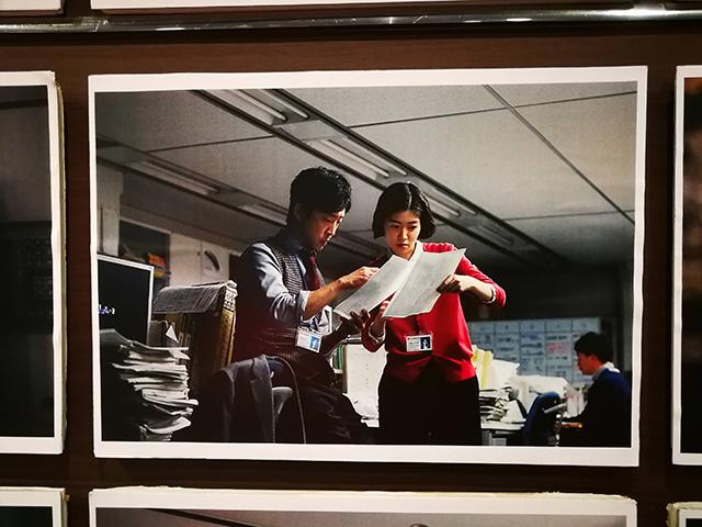 映画『新聞記者』角川シネマ有楽町 掲示 劇中シーン