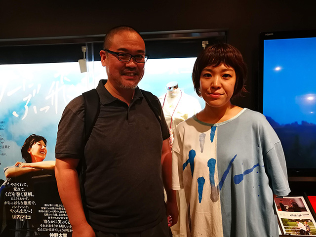映画『ブルーアワーにぶっ飛ばす』箱田優子監督 テアトル新宿