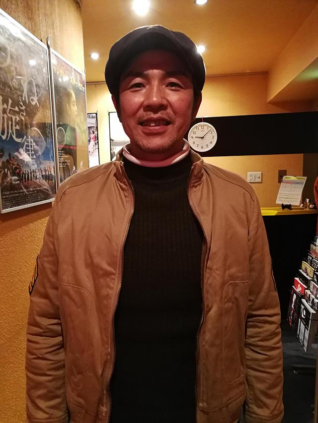 映画『セブンガールズ』下北沢トリウッド 中野圭さん(幸三役)劇団前方公演墳 2019年2月10日