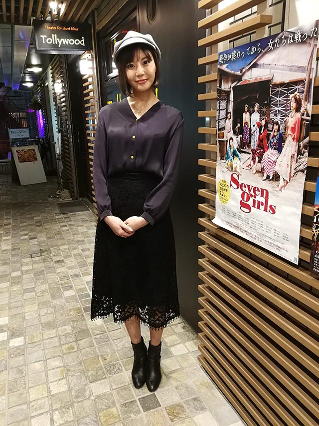 映画『セブンガールズ』下北沢トリウッド 浅野七海さん(瞳役)2019年2月10日