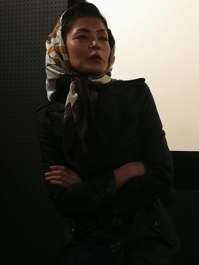 映画『セブンガールズ』下北沢トリウッド 藤井直子さん(コノ役)劇団前方公演墳 2019年2月11日