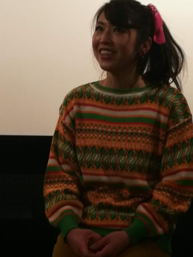 映画『セブンガールズ』下北沢トリウッド 坂崎愛さん(真知役)劇団前方公演墳 2019年2月11日
