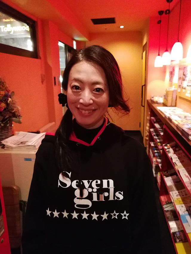 映画『セブンガールズ』下北沢トリウッド 佐野みかげさん(オカリ役)劇団前方公演墳 2019年2月11日