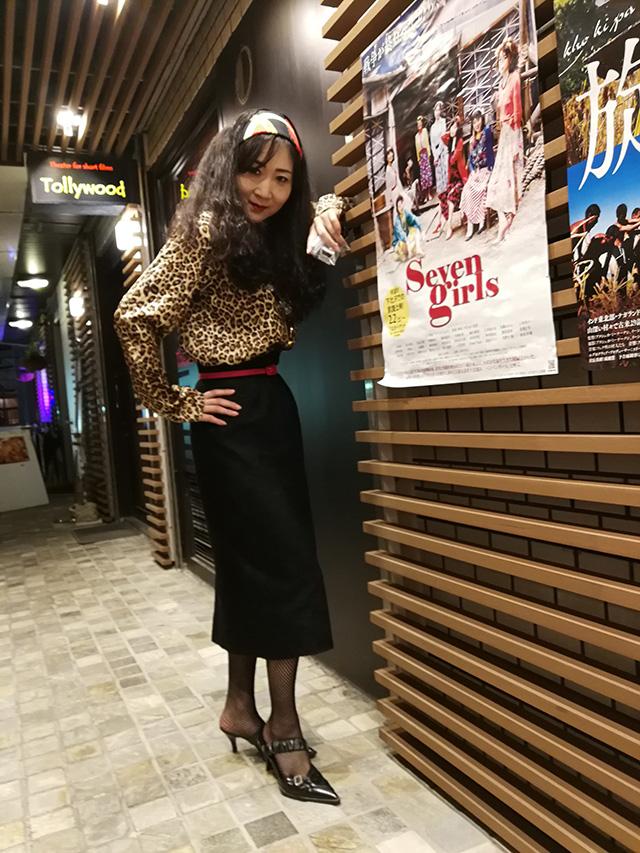 映画『セブンガールズ』下北沢トリウッド 河原幸子さん(あさひ役)劇団前方公演墳 2019年2月13日
