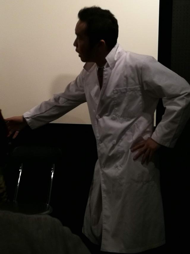 映画「セブンガールズ」 下北沢トリウッド 金子透さん(寺庵風太郎) 劇団前方公演墳 2019年2月15日