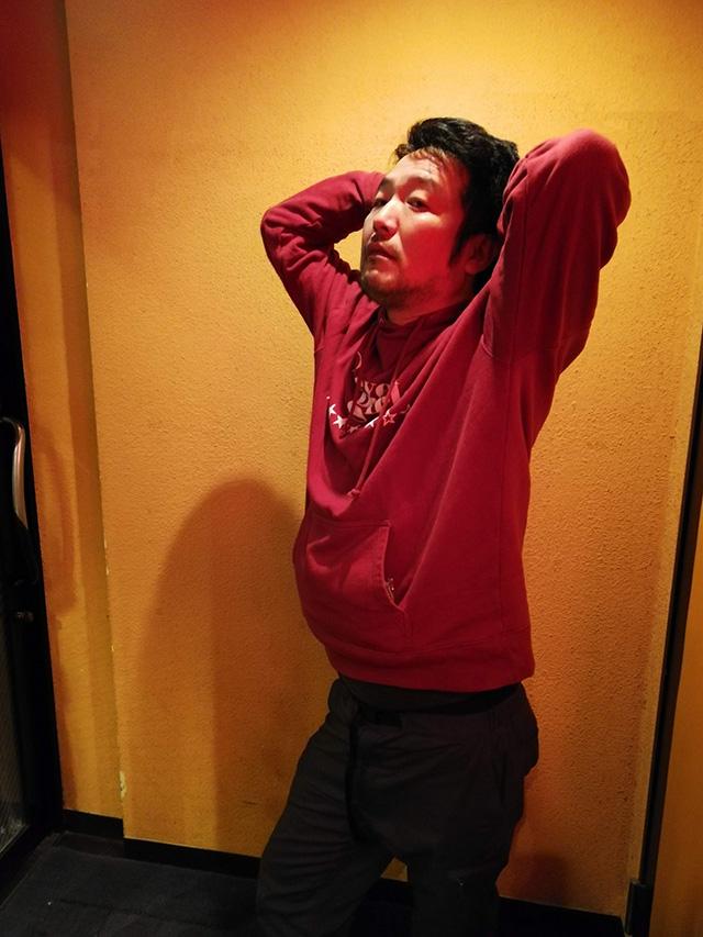 映画「セブンガールズ」 下北沢トリウッド 小野寺隆一さん(成瀬凛太朗役) 劇団前方公演墳 2019年2月15日