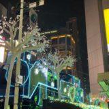 新橋イルミネーション JR新橋駅前SL広場 2020年12月12日